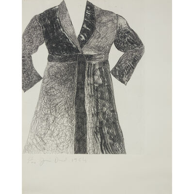 Jim Dine, 'Bathrobe from New York Ten', 1965