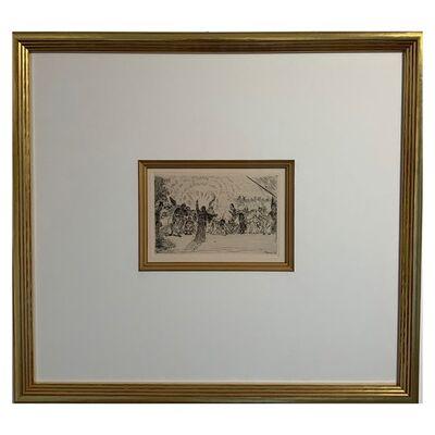 James Ensor, 'Christus bij de bedelaars', 1895