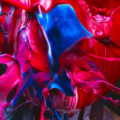 Tyler Shields, 'Acrylic Mouth', 2018