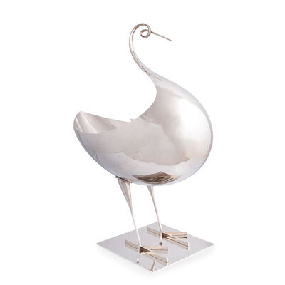 Hagenauer, 'Large bowl (jardinière) in the form of a bird, Franz Hagenauer 1970s', ca. 1970s