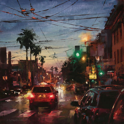 Lindsey Kustusch, 'Warm Night in the Mission', 2020
