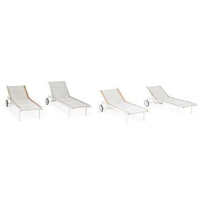 Richard Schultz, 'Four reclining lounge chairs, USA', 1990s
