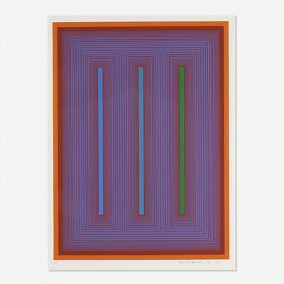 Richard Anuszkiewicz, 'Plate IX from the Sequential Portfolio', 1972