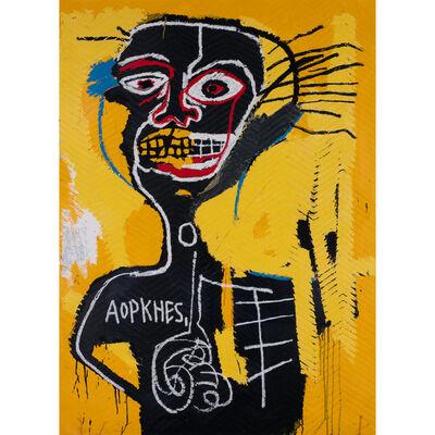 After Jean-Michel Basquiat, 'Cabeza, from Portfolio II', 1982 / 2005