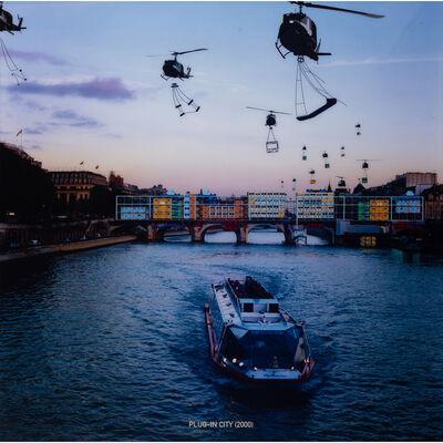 Alain Bublex, 'Plug in city (2000-, Pont Neuf)', 2002