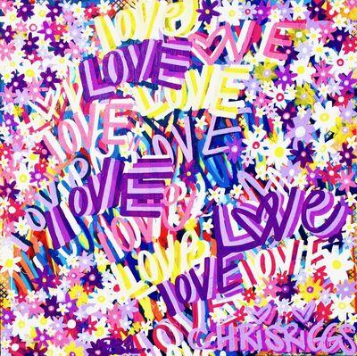 CHRIS RIGGS, 'Love Painting 4', 2018