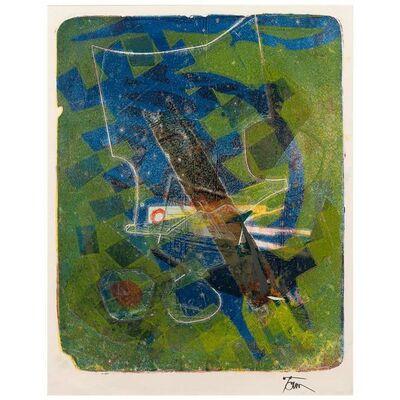 "Harold Town, '""Lagoon"" Single Autographic Print', 1956"
