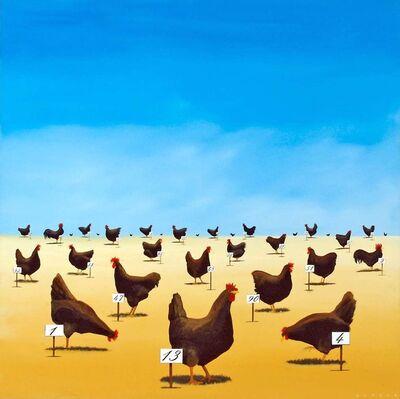 Robert Deyber, 'The Pecking Order', 2007