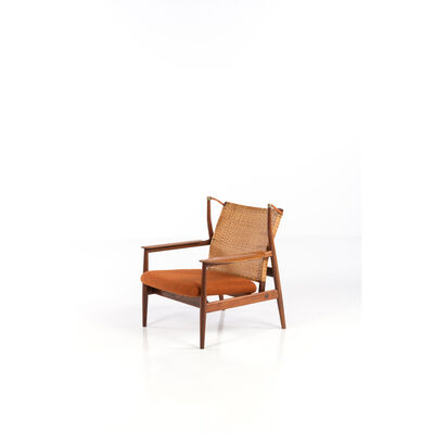 Finn Juhl, 'FJ-55 model, Armchair', 1953