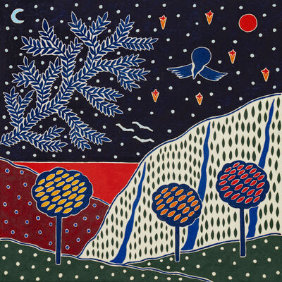 Anders SCRMN Meisner, 'Blood Moon & The Fruit Plantation', 2020