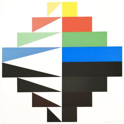 Fausta Squatriti, 'Pesi Cromatici', 1985