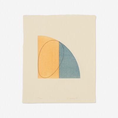 Robert Mangold, 'Curved Plane/Figure II', 1995