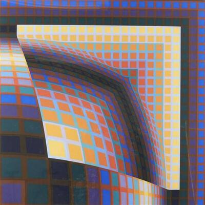 Victor Vasarely, 'Titan', 1985