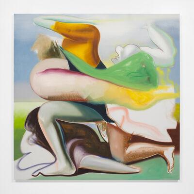 Katherina Olschbaur, 'Untitled (Figures) Trouble in paradise', 2018