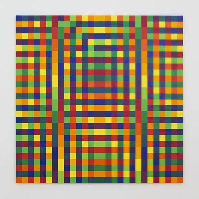 Julio Le Parc, 'Série 34 Nº7-14 14-7', 1970-2016