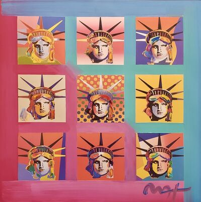 Peter Max, 'Nine Liberties ', 2007