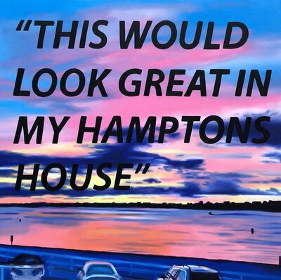 The Kaplan Twins, 'This Would Look Great in my Hamptons House', 2018