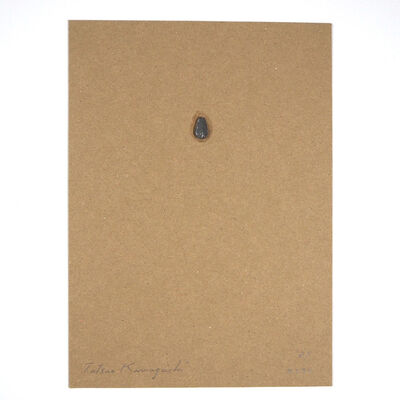 Tatsuo Kawaguchi, 'Relation – One Seed of Lead / Sunflower', 1987