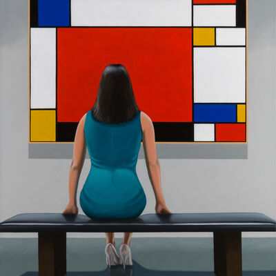 Jamie Perry, 'Mondrian Red', 2017