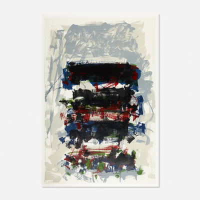 Joan Mitchell, 'Champs (Fields) from the Carnegie Hall Centennial Fine Art portfolio', 1990