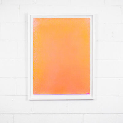 Jules Olitski, 'Orange Spray', 1970
