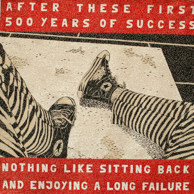 Rigo 92, 'After These First Five Hundred Years of Success', 1992
