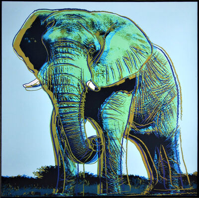 Andy Warhol, 'Elephant for Art Basel 1987', 1987