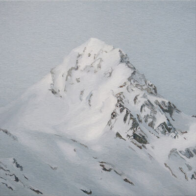 Ralph Fleck, 'Alpenstück15 III Maloya', 2018