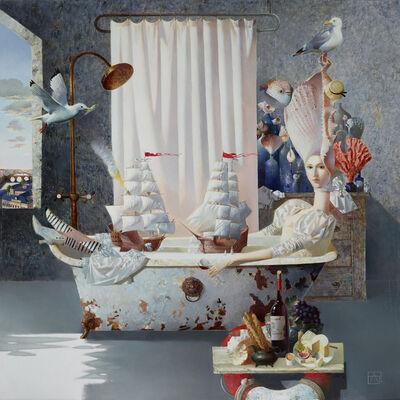 Anna Berezovskaya, 'Sea Battle', 2018