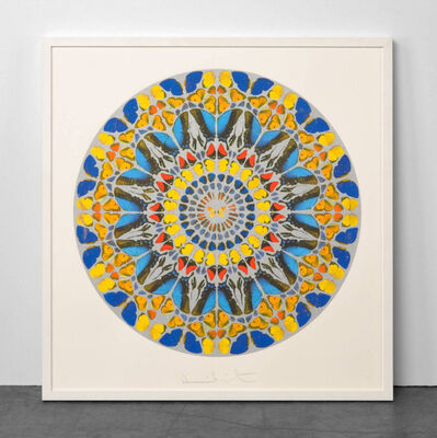 Damien Hirst, 'Damien Hirst Psalm: Confitebor Tibi (with Diamond Dust) ', 2010