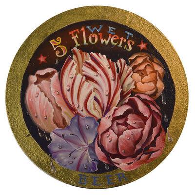 Susanne Apgar, 'Five Wet Flowers Beer', 2018
