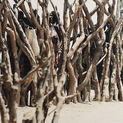 Simone Casetta, 'Le mura di Akwem, dalla serie 'South Sudan'', 1999