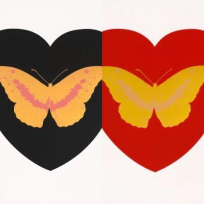 Damien Hirst, 'I Love You (Pair)', 2015