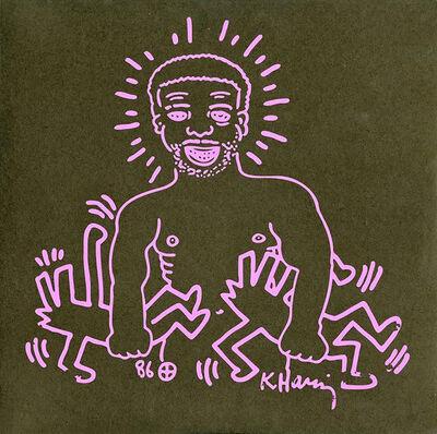 Keith Haring, 'Keith Haring Paradise Garage Record Art', 2009