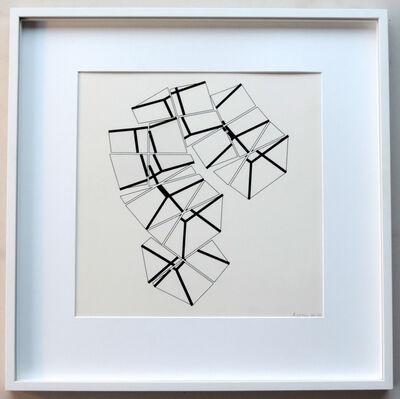 Manfred Mohr, 'C; 102', 1984-1986