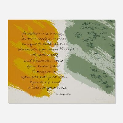 Corita Kent, 'Awakening', 1983