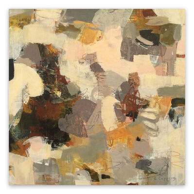 Linda Coppens, 'Poetry of Life 5 (Abstract painting)', 2020