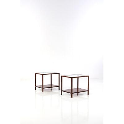 Joaquim Tenreiro, 'Pair of side tables', 1950