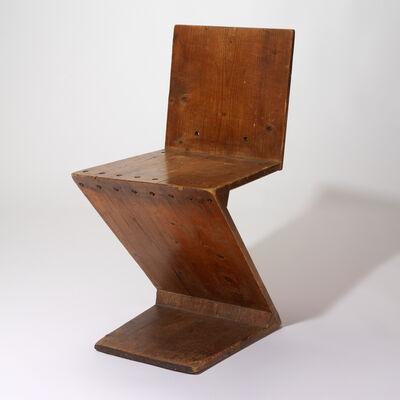 Gerrit Thomas Rietveld, 'Zig-Zag chair', 1941