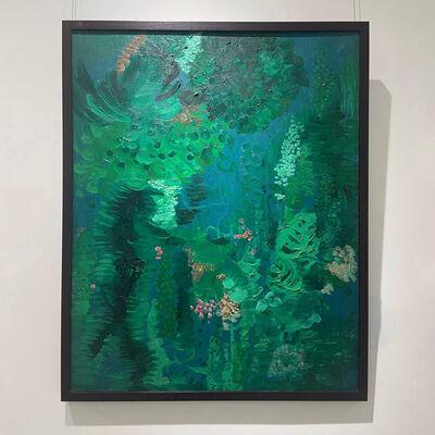 Wang Baolei 王保雷, 'A Sea of Flowers', 1998
