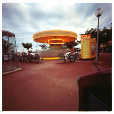 Dianne Bos, 'Narbonne- Carousel with Audience', 2001