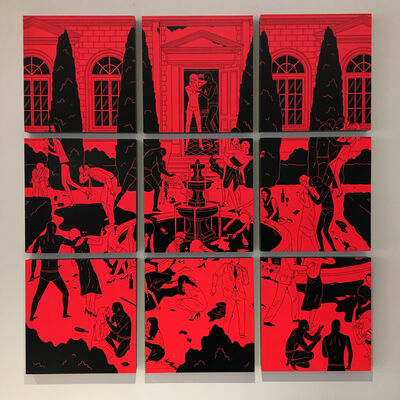 Cleon Peterson, 'A Struggle Of Will', 2010