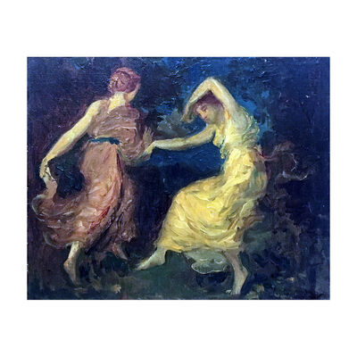 Unattributed, 'Two dancers', 1936