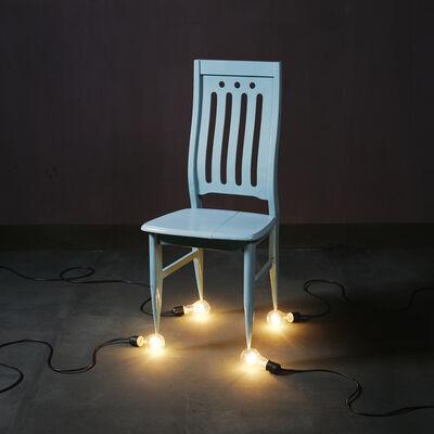 Chen Wei, 'A Chair and Four 100-watt Bulbs', 2010