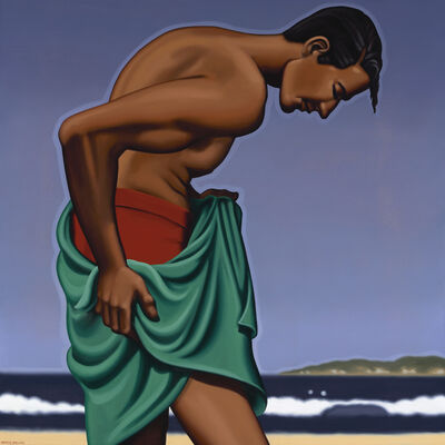 R. Kenton Nelson, 'After a Swim', 2019