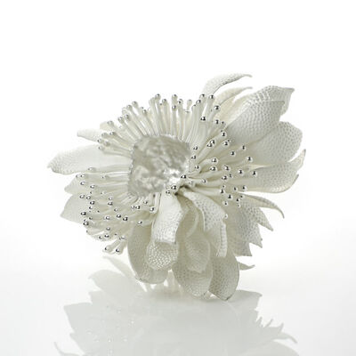 Junko Mori, 'Silver Organism; Dotty Dew', 2019