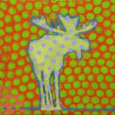 Les Thomas, 'Animal Painting #019-1646'