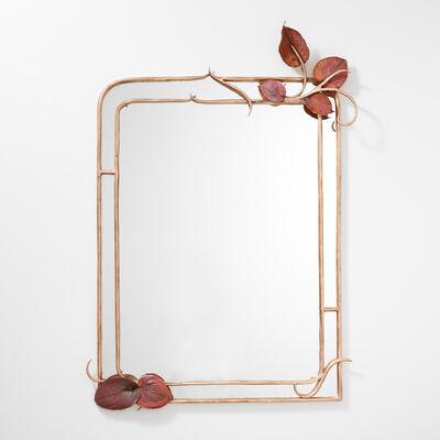 Claude Lalanne, 'Miroir Feuilles Hosta', 2018
