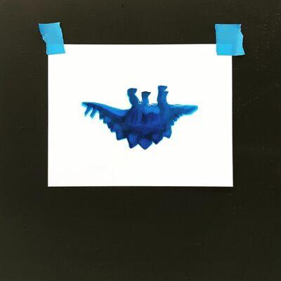 Oscar Figueroa, 'Blue Stegosaurus', 2020