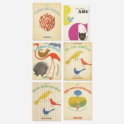 Bruno Munari, 'collection of six children's books', 1945-1960